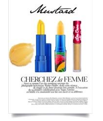 Estee Lauder - Turn Up | MAC - Gold Xixi | Lime Crime - Zenon
